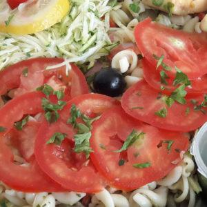 livraison de salade,tarte,sandwich,dessert sur saint denis 974